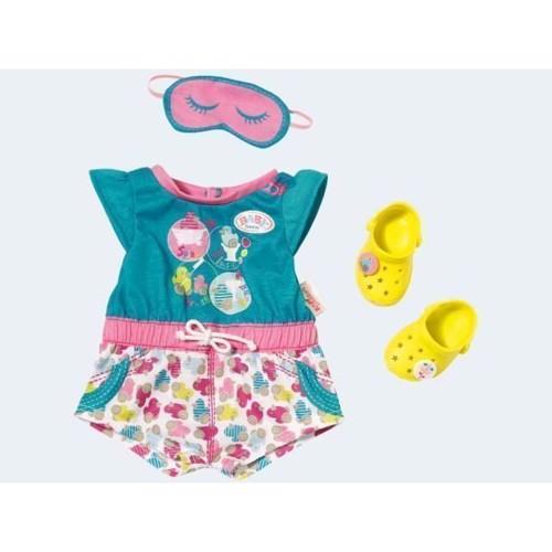 Image of Baby Born pyjamas med Træsko