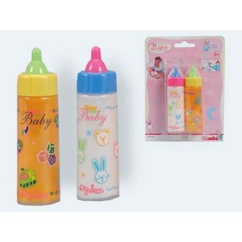 Køb Dukke Sutteflasker Mælk Juice Flaske 12cm Billigt På Tilbud