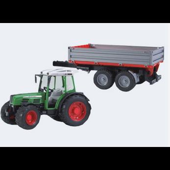 Image of Bruder Fendt traktor 209 S med bagsmækanhænger