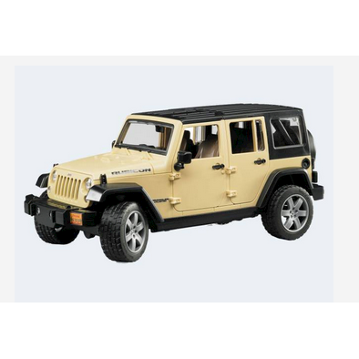 Image of Bruder Jeep Wrangler Unlimited Rubicon 31cm