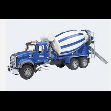Image of Bruder Lastbil Mack Cementblander 66Cm