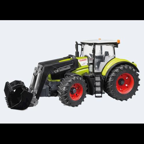 Image of Bruder Traktor 42cm Claas Axion 950 med frontlæsser