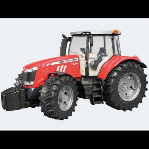 Image of Bruder Traktor 34cm Massey Ferguson 7600