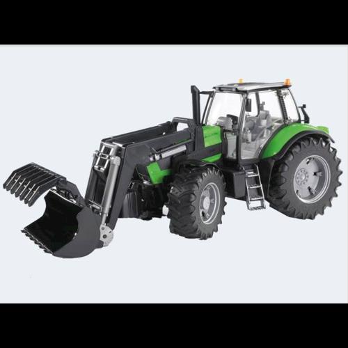 Image of Bruder Traktor 45cm Deutz Agrotron X720 med frontlæsser