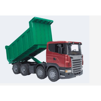 Image of Bruder lastbil Scania tippelad LKW 54cm