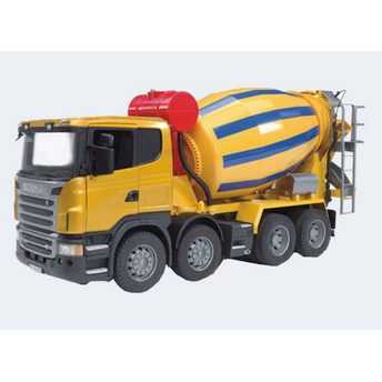 Image of Bruder Lastbil Scania Cementblander 57Cm