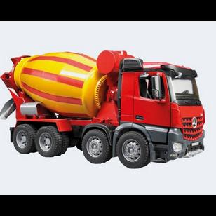 Image of Bruder Lastbil Mb Arocs Cementblander 53Cm