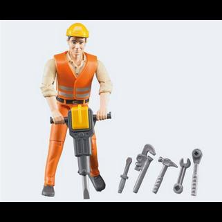 Image of Bruder bworld Bygningsarbejder med tilbehør
