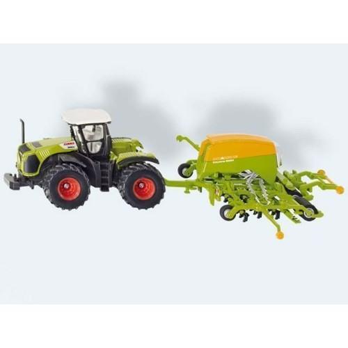 Image of Siku Traktor med så maskine (4006874018260)