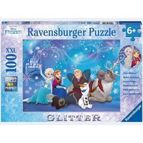 Image of Ravensburger Puslespil 100 brikker XXL frozen