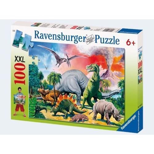Image of Ravensburger Puslespil 100 brikker dinosaur
