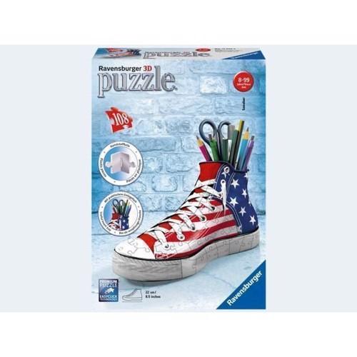 Image of Ravensburger 3D Puslespil 108 Brikker Sneaker American Style