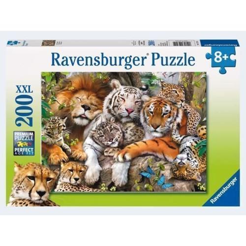 Image of Ravensburger Puslespil 200 brikker XXL store kattedyr