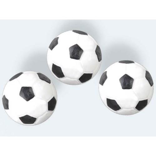 Image of 3 fodbolde 35mm hvid