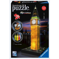 Ravensburger 3D Puslespil Big Ben night edition