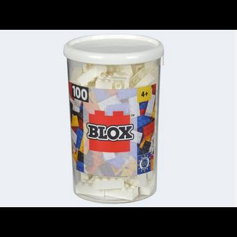 Image of Blox 100 hvide byggeklodser (4006592489151)