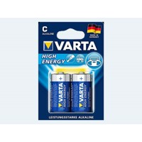 Batteri 2 stk VARTA 1,5 D LR20 High Energy