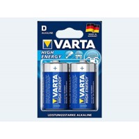 Batteri 2 stk VARTA Mono 1,5 D LR20 High Energy