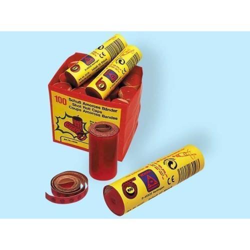 Image of 10 legetøjsruller med 100 skud (4000908002201)