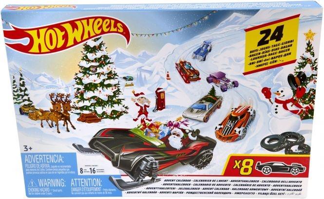 Hot Wheels Julekalender 2019