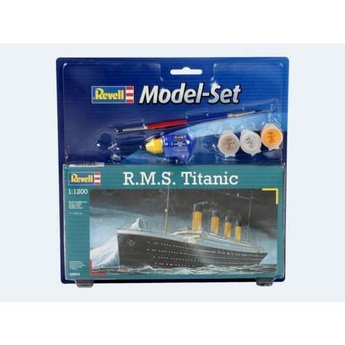 Image of Modelsæt, Titanic