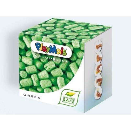 Image of PlayMais Color, 150 stk i grøn med bog og tilbehør