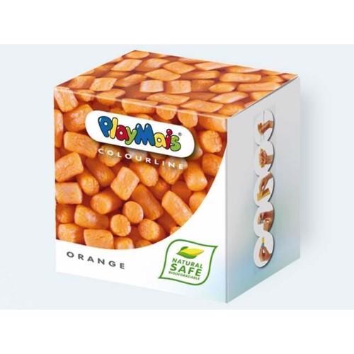 Image of PlayMais Color, 150 stk i orange med bog og tilbehør