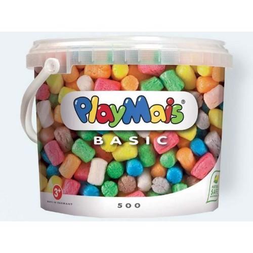 Image of PlayMais BASIC, 500 stk, guidebog og tilbehør