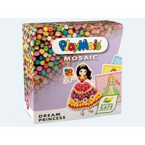 Image of PlayMais Mosaik, Dream Princess, 2300 dele (4041077002708)
