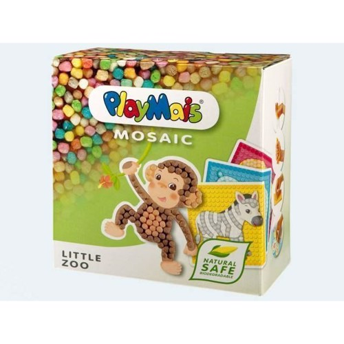 Image of   PlayMais Mosaik, Little Zoo, 2300 dele