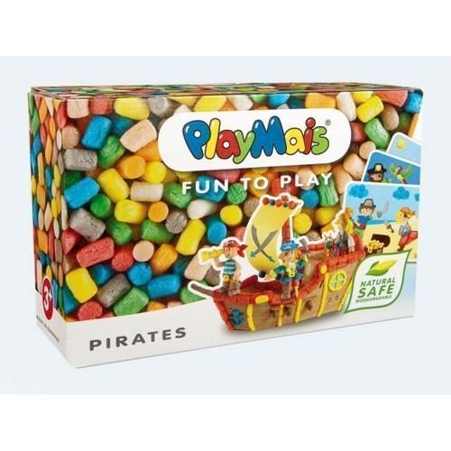 Image of PlayMais Fun to Play, 550 stk og 10 kort, Pirat