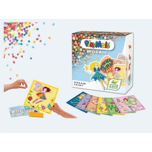 Image of   PlayMais Mosaik, Dream Fairy, 2300 dele
