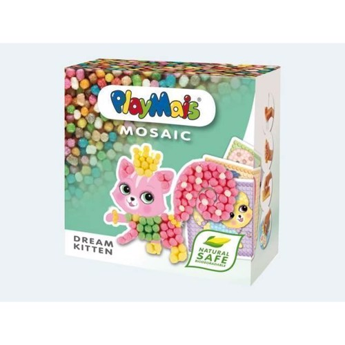 Image of   PlayMais Mosaik, Dream kitten, 2300 dele