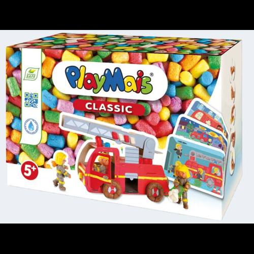 Image of PlayMais Fun to Play brandvæsen 550 dele og 10 kort