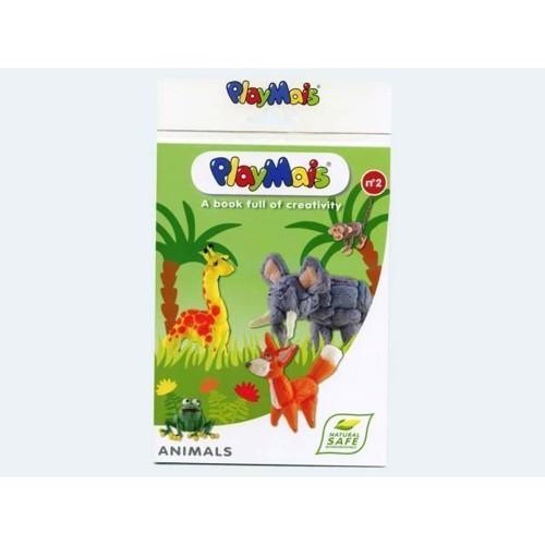 Image of PlayMais bog, med dyr 32 sider