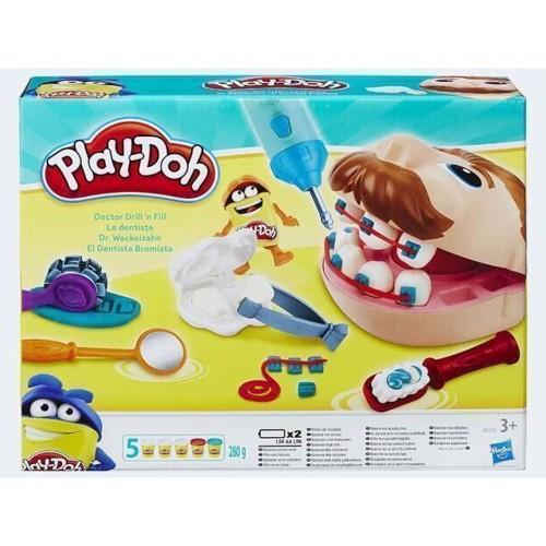 Image of Play Doh modellervoks tandlæge (5010994956653)