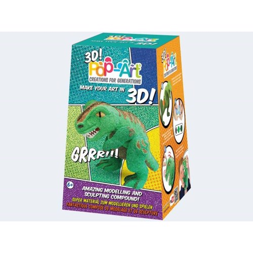 Image of   Pop Art 3D T-Rex