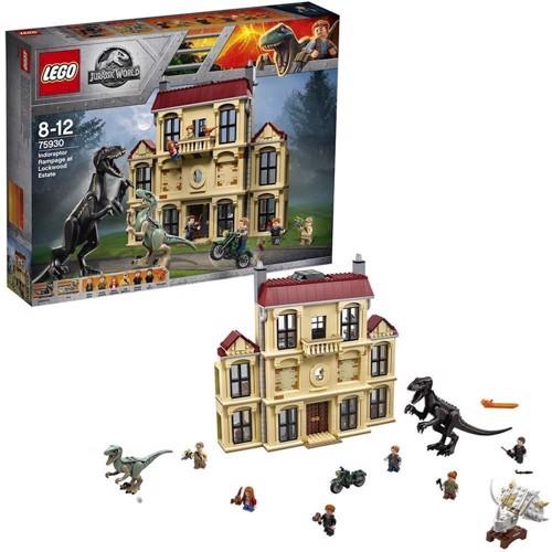 Image of Lego 75930 Jurassic World Indoraptor Rampage At Lockwood State
