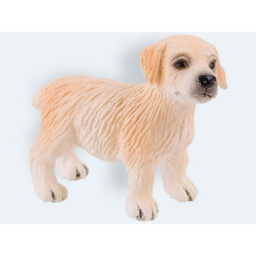 Image of   Bullyland Figur, Golden Retriever hvalp 5,5cm