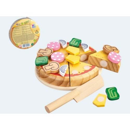 træ legetøjs mad