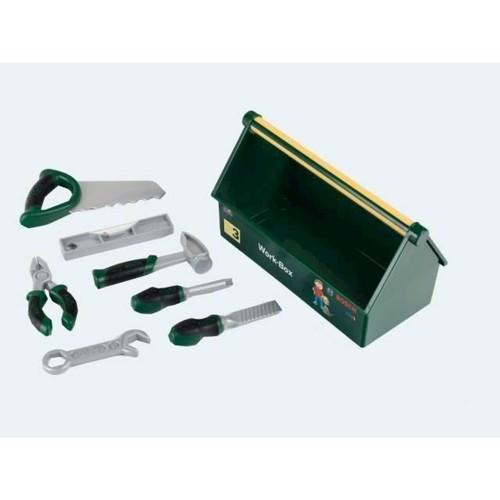 Bosch Legetøj Værktøjskasse, 7 Dele 30cm