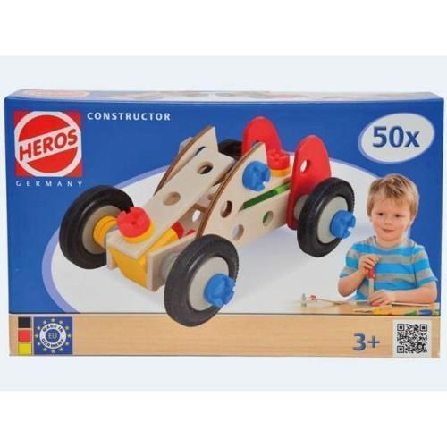 Image of Constructor Bil 50 dele 3i1 (4051902390160)