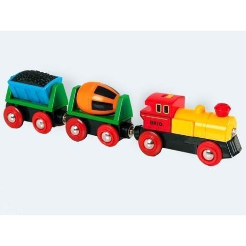 Image of BRIO elektrisk tog med 2 vogne