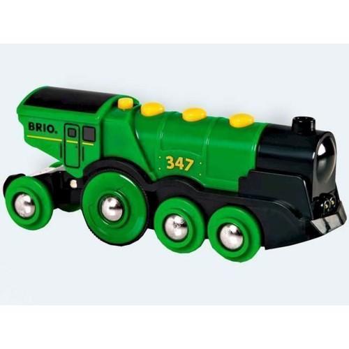 Image of BRIO lokomotiv grøn