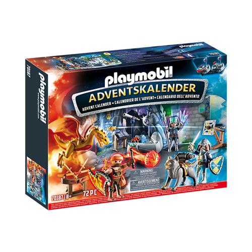 Image of Playmobil julekalender 70187 Kampen om den magiske sten