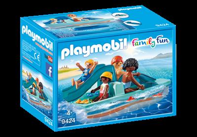 Image of Playmobil 9424 Pedalbåd Med Dias