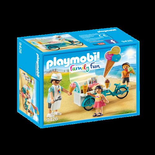 Image of Playmobil 9426 Cykel Med Isvogn