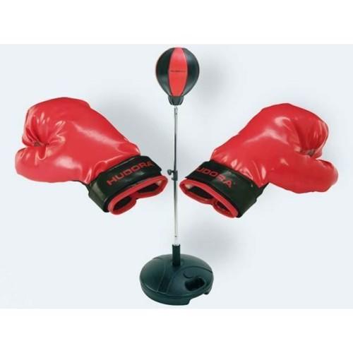Image of   Boksebold med handsker