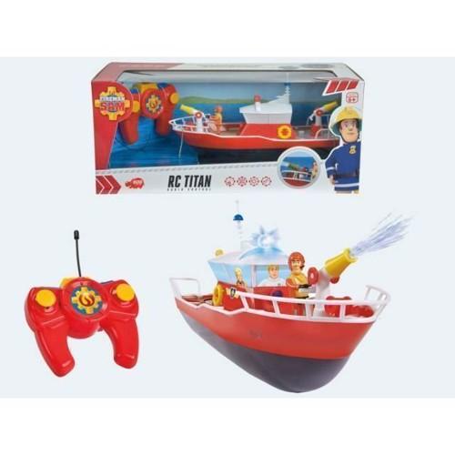 Image of Fjernstyret båd, Brandmand Sam