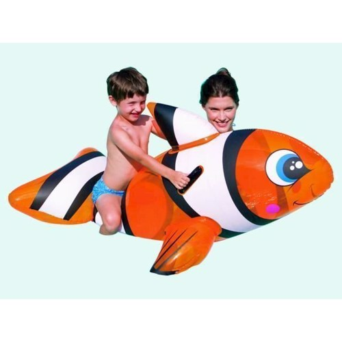 Image of   Badedyr formet som en klovnefisk 157 cm